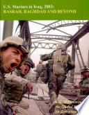 U S  Marines in Iraq  2003