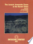 The Jurassic Ammonite Zones of the Soviet Union