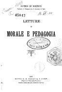 Letture di morale e pedagogia