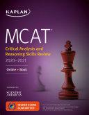 MCAT Critical Analysis and Reasoning Skills Review 2020 2021