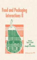 Food and Packaging Interactions II