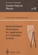 Reduced Kinetic Mechanisms for Applications in Combustion Systems Pdf/ePub eBook