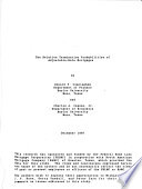 Research Working Paper - Federal Home Loan Bank Board