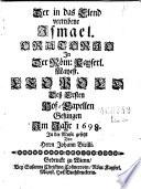 """""""Der"""" in das Elend vertribene Ismael"""