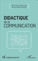Pdf Didactique de la communication Telecharger
