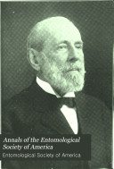 Annals of the Entomological Society of America Book