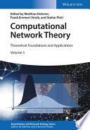 Computational Network Theory Book
