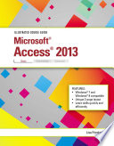 Illustrated Course Guide Microsoft Access 2013 Basic