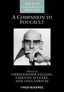 Pdf A Companion to Foucault Telecharger