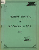 Highway Traffic in Wisconsin Cities