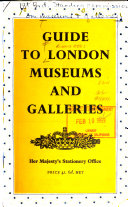 Guide To London Museums And Galleries