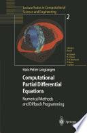Computational Partial Differential Equations