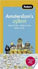 Fodor's Amsterdam's 25 Best