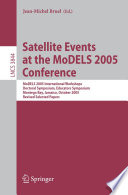 Satellite Events at the MoDELS 2005 Conference Book