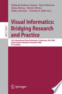 Visual Informatics Bridging Research And Practice