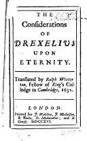 The Considerations of Drexelius Upon Eternity