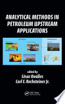 Analytical Methods In Petroleum Upstream Applications Book PDF