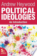 Cover of Political Ideologies