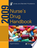 """2009 Nurse's Drug Handbook"" by Jones & Bartlett Publishers"