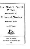 Fifty Modern English Writers