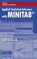 Pdf Applied Statistical Inference with MINITAB® Telecharger