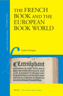The French Book and the European Book World