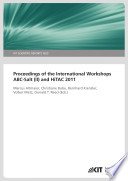 Proceedings of the International Workshop ABC-Salt (II) and HiTAC 2011 (KIT Scientific Reports ; 7625)
