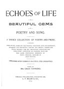 Echoes of Life Or  Beautiful Gems of Poetry and Song
