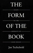 The Form of the Book