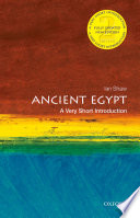 link to Ancient Egypt : a very short introduction in the TCC library catalog