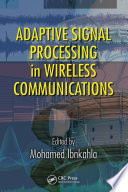 Adaptive Signal Processing In Wireless Communications Book PDF