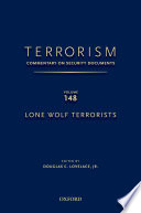 Terrorism  Commentary on Security Documents Volume 148 Book