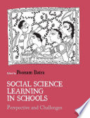 Social Science Learning in Schools  : Perspective and Challenges