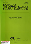 Journal of the Communications Research Laboratory