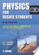 Physics for Degree Students B.Sc.First Year
