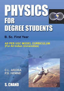 Pdf Physics for Degree Students B.Sc.First Year Telecharger