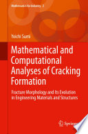 Mathematical and Computational Analyses of Cracking Formation