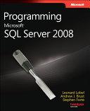 Programming Microsoft SQL Server 2008