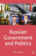 Pdf Russian Government and Politics Telecharger