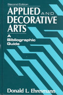 Applied and Decorative Arts