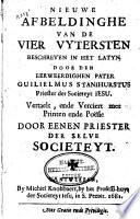 Nieuwe Afbeeldinghe Van De Vier Uytersten Beschreven In Het Latyn