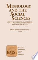 Missiology and the Social Sciences