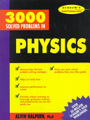 Cover of 3,000 Solved Problems in Physics
