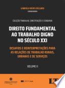 Direito Fundamental ao Trabalho Digno no Século XXI - Volume II