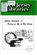New Jersey Libraries Book PDF