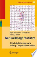 Natural Image Statistics Book PDF