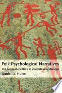 Folk Psychological Narratives