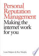 Personal Reputation Management