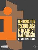 Information Technology Project Management Pdf/ePub eBook