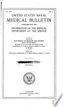 United States naval medical bulletin. v. 16, 1922